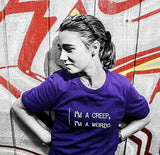 I'm a Creep, I'm a Weirdo - Mens T - Dark