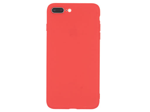 Forall Phones Second Skin Red Case iPhone 7 Plus/ 8 Plus Back
