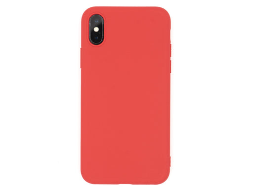 Forall Phones Second Skin Red Case iPhone X/XS Back