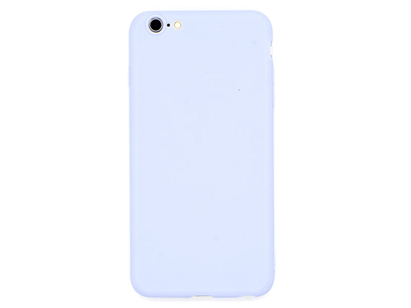 Forall Phones Second Skin Light Blue Case iPhone 6 Plus/ 6S Plus Back