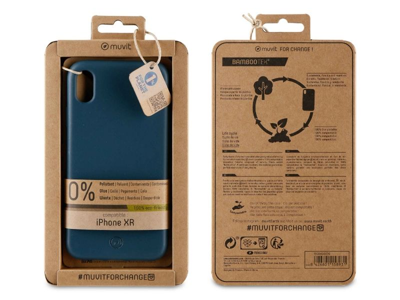 Biodegradable iPhone XR Case (Blue)