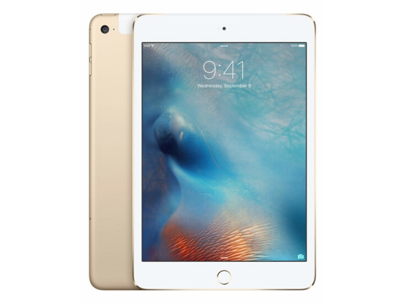 Apple iPad Mini 4 (128GB Wi-Fi + Cellular) Gold