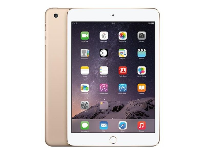 Apple iPad Mini 3 (128GB Wi-Fi) Gold