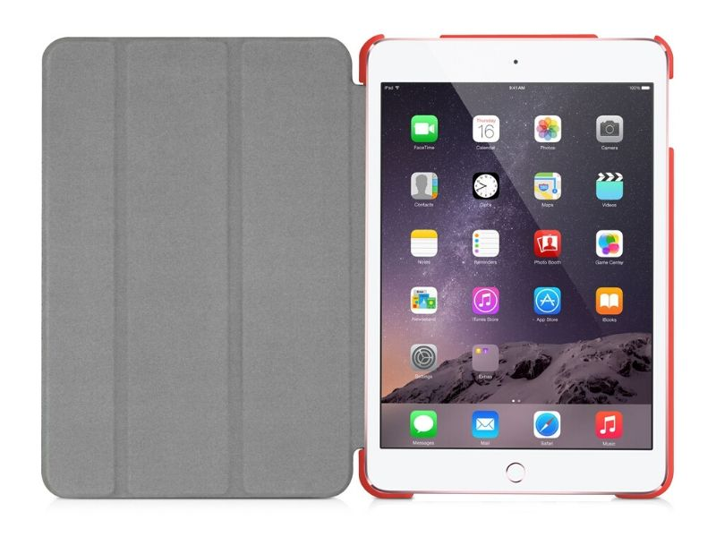 Macally Protective Case for iPad Pro 9.7''/Air 2 - Red