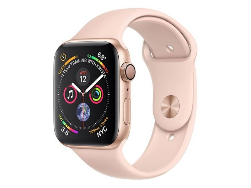 Apple Watch Series 4 GPS 44mm - Gold Aluminium Case with Pink Sport Band