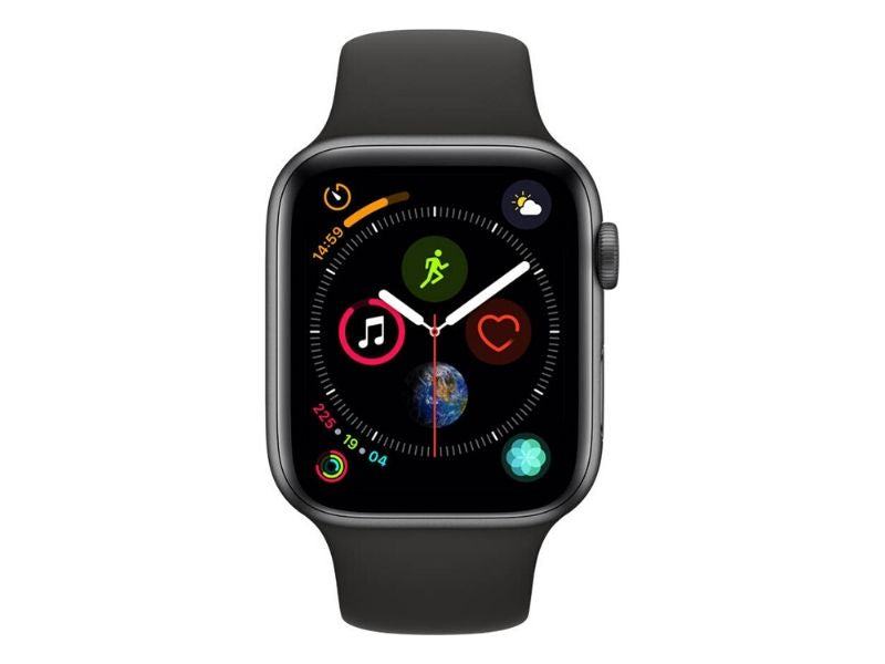 Apple Watch Series 4 GPS 40mm - Space Grey Aluminium Case with Black Sport Band