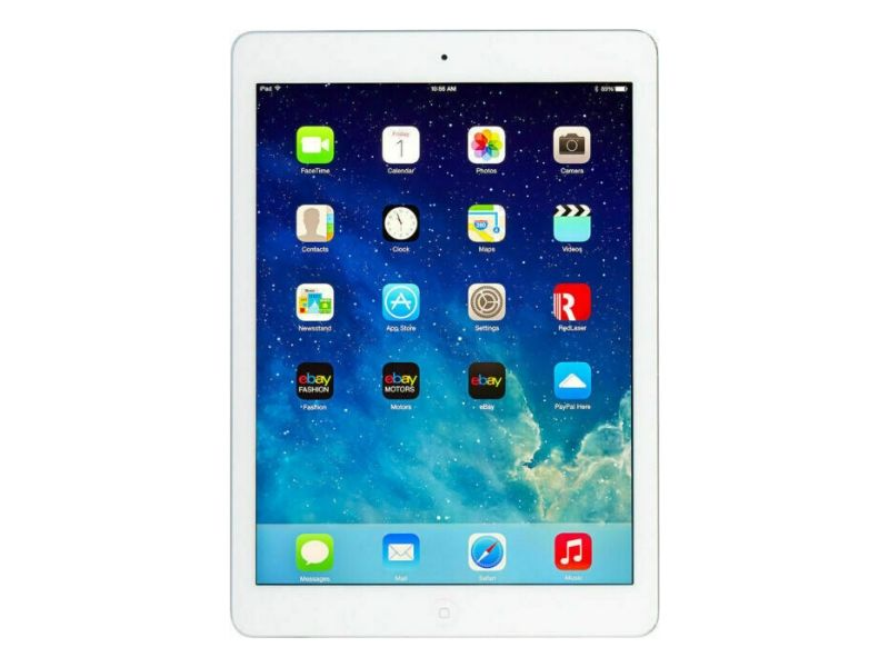 Apple iPad Air Wi-Fi + Cellular 128GB Silver