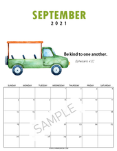 Load image into Gallery viewer, Super-Cute Bible Verse Calendar for Kids