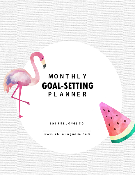 Monthly Goal-Setting Planner