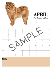 Load image into Gallery viewer, Dog-Themed Pet Care Planner & 2019 Monthly Calendar Bundle {Special Launch Deal}