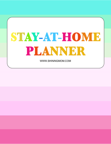 Stay-at-Home Planner (Premium Edition)