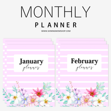 Load image into Gallery viewer, Monthly Planner: So Beautiful!