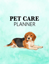 Load image into Gallery viewer, Super Cute Pet Care Planner for Your Dog Buddy!