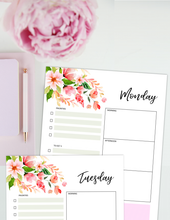 Load image into Gallery viewer, Beautiful Daily Planners