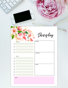 Beautiful Daily Planners
