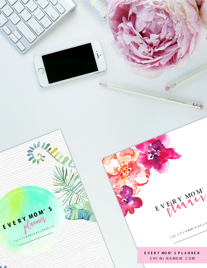 Every Mom's Planner: Ultimate Home Management Binder for Moms!