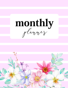 Monthly Planner: So Beautiful!