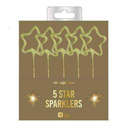 Star Sparkle Candles