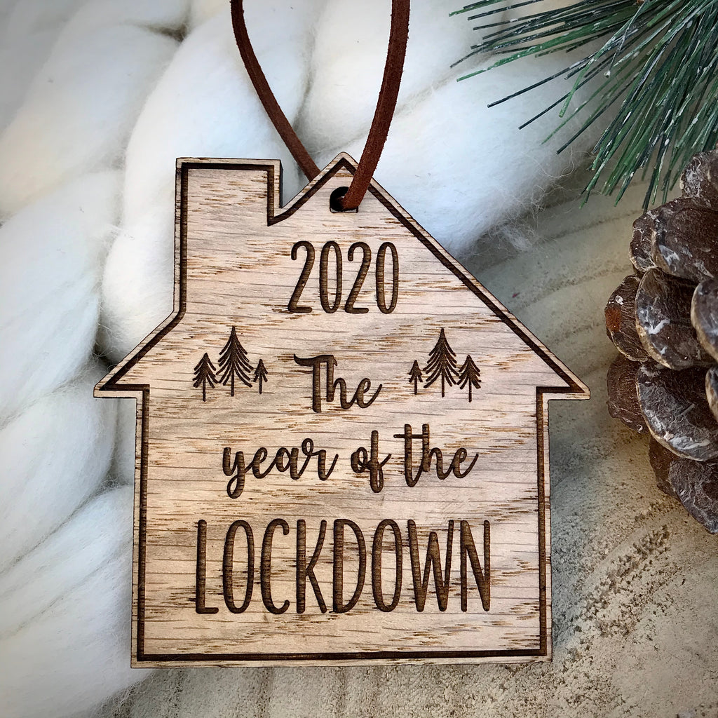 Year of the Lockdown 2020 Bauble