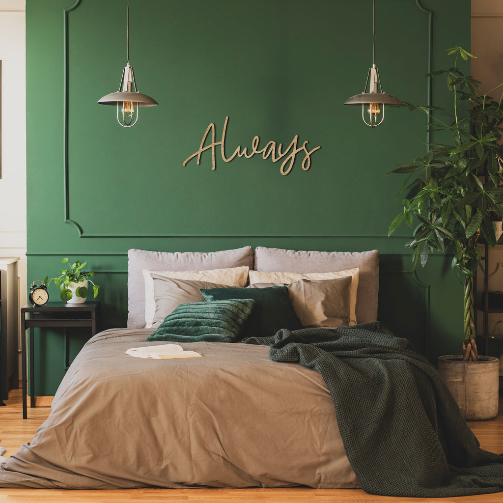 """Always"" - Wooden Wall Sign"
