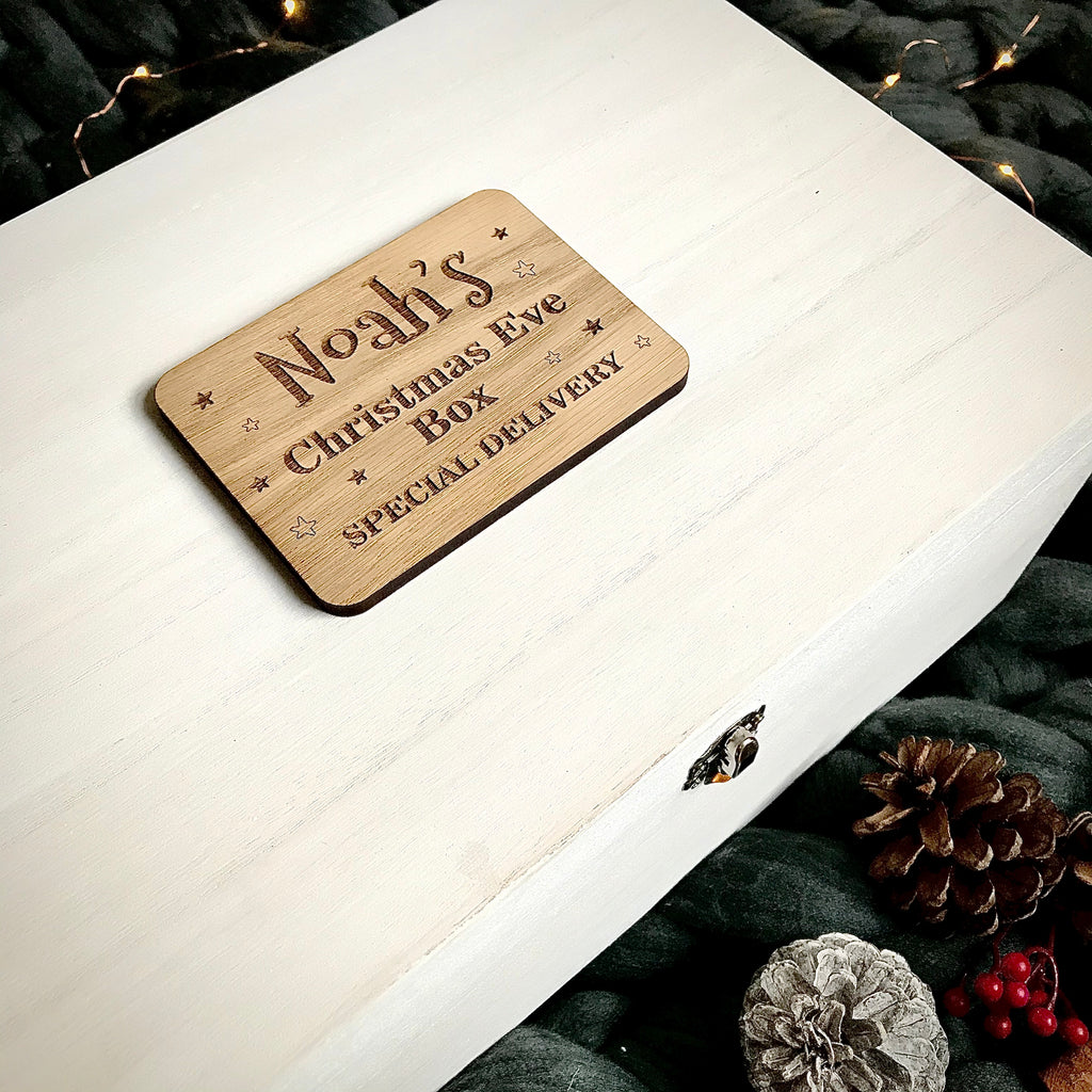 Christmas Eve Box Topper - Personalised