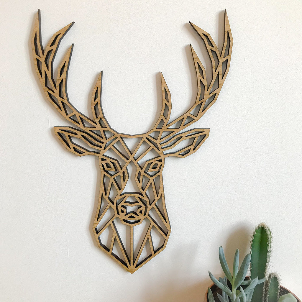 Geometric Stag - narrow version