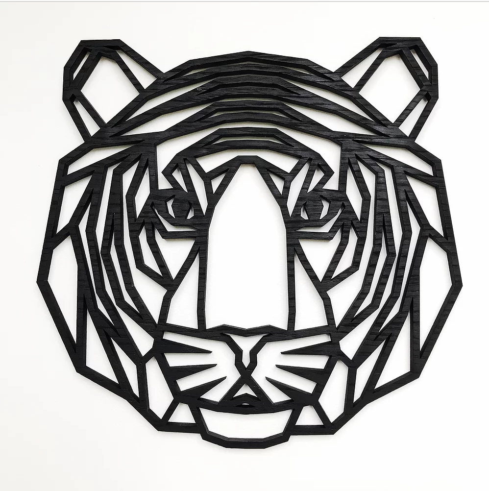 SAMPLE - Geometric Tiger