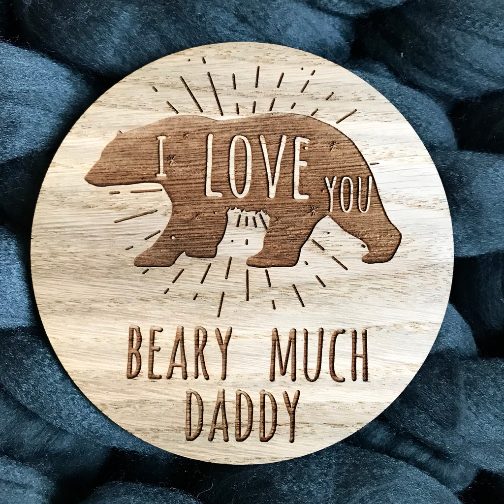 We Love You Beary Much Daddy disc