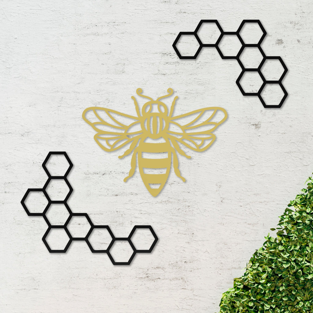 Geometric Bee with Honeycomb
