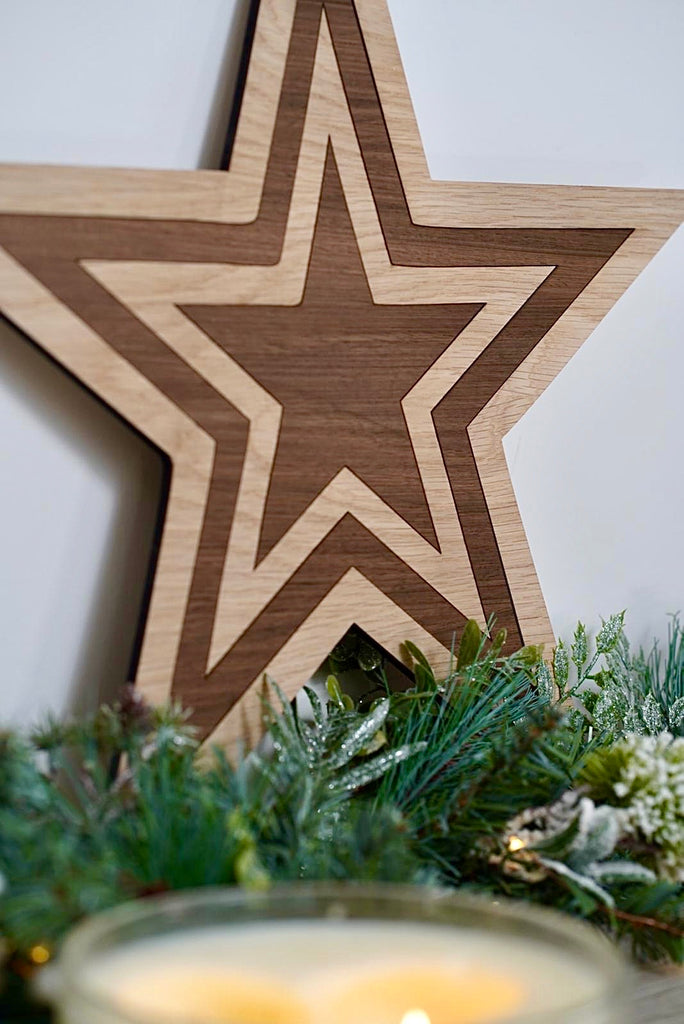 Nest of Wooden Stars