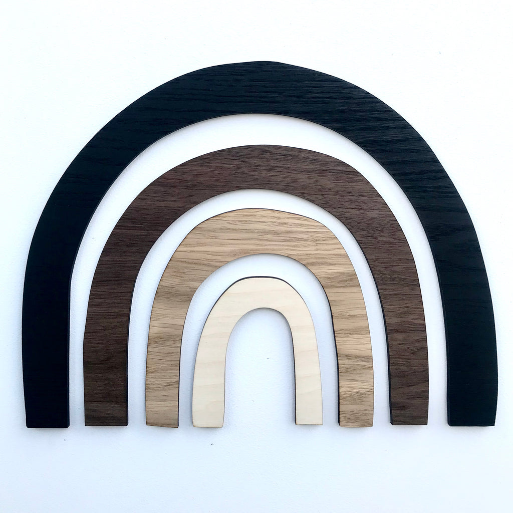 Scandi Wooden Rainbow