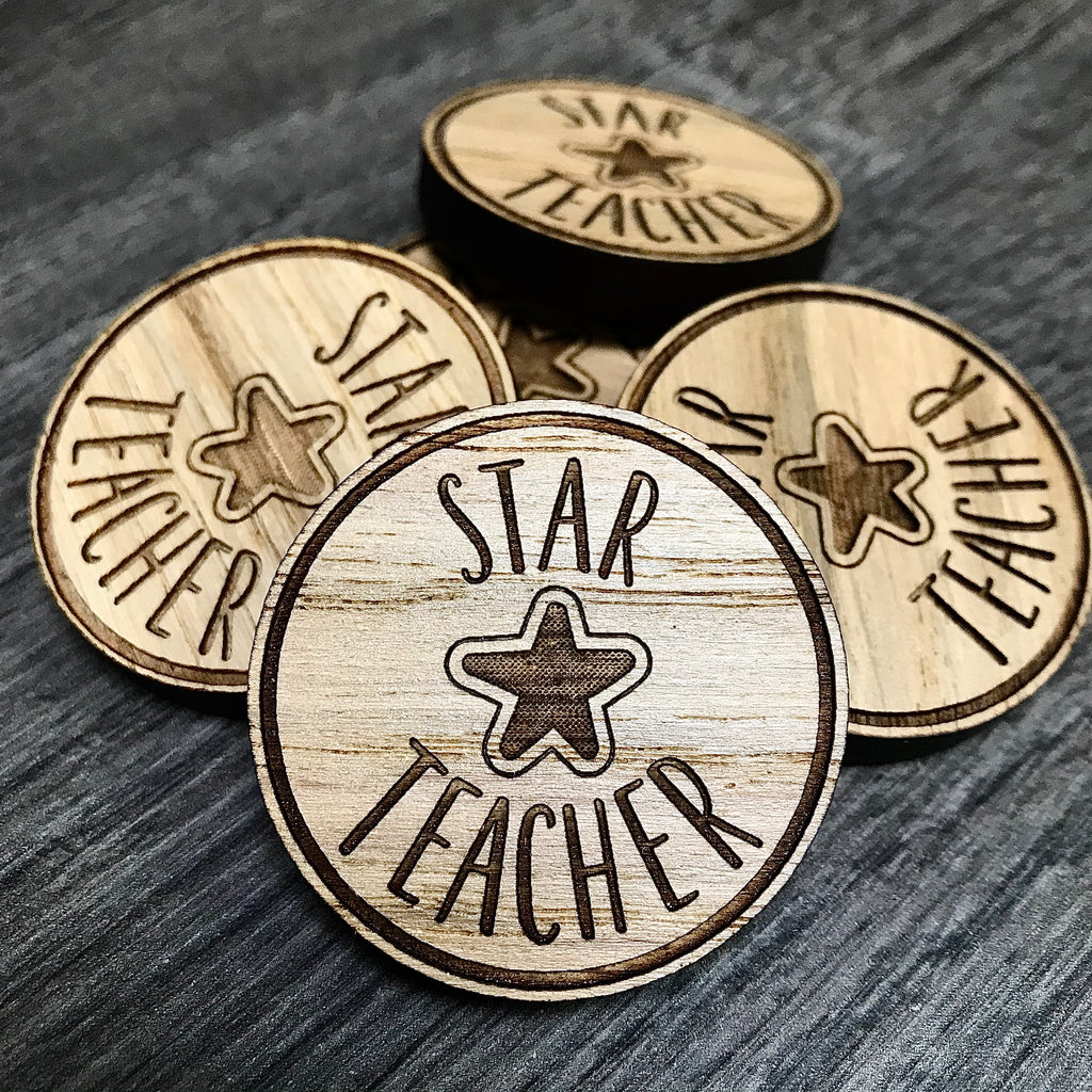 """Star Teacher"" - Token"