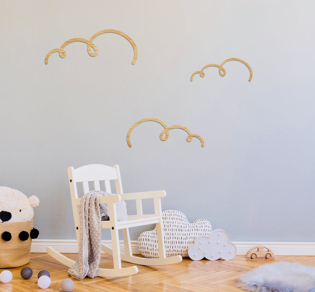 Clouds - Set of 3