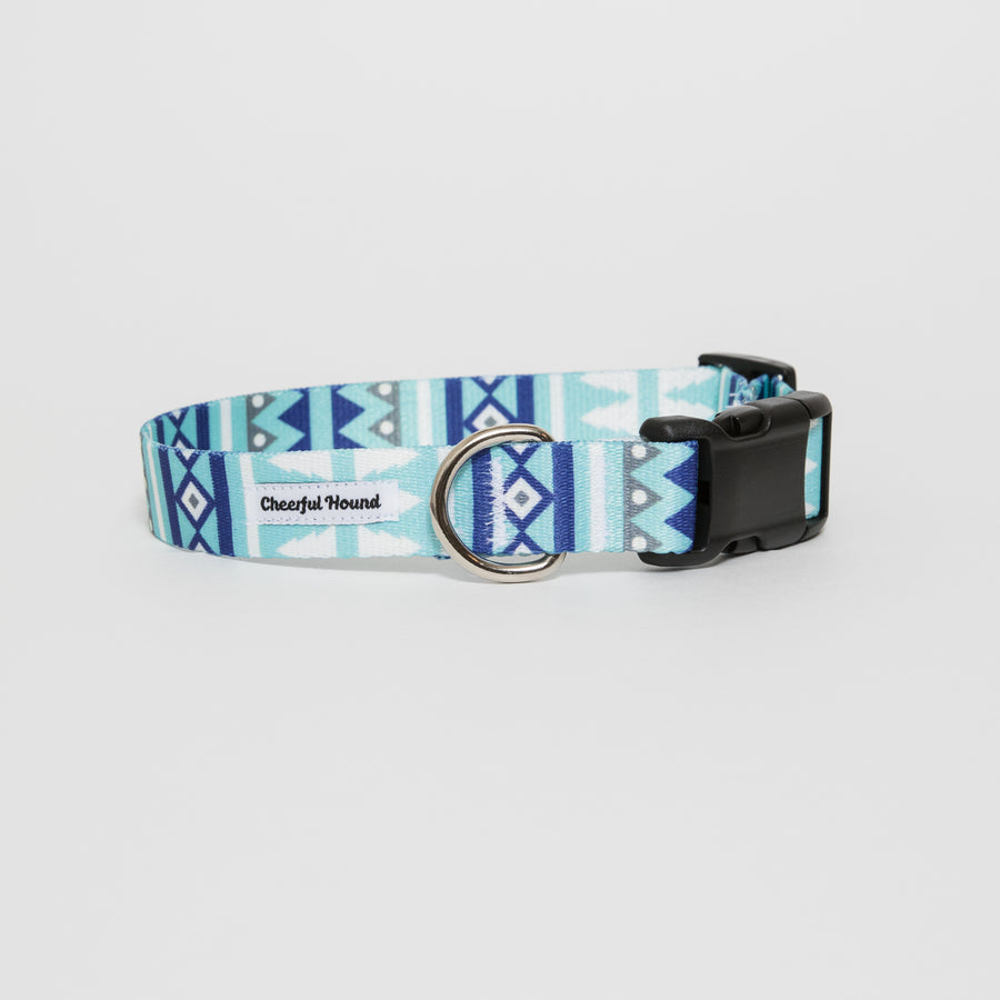 Snowy Pines Dog Collar