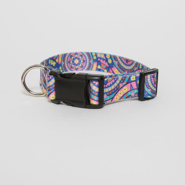 Boho Mandala Dog Collar