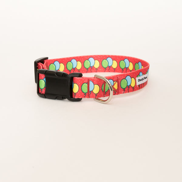 Balloon Bonanza Dog Collar