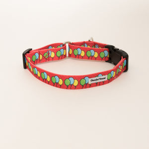 Balloon Bonanza Martingale Dog Collar