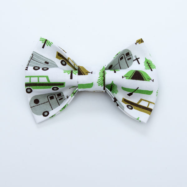 Camp Life Dog Bow Tie