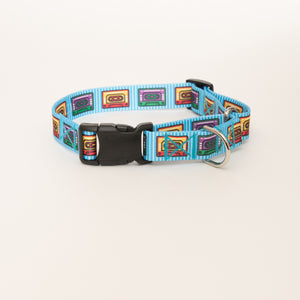 Cassette Mix Tape Martingale Dog Collar