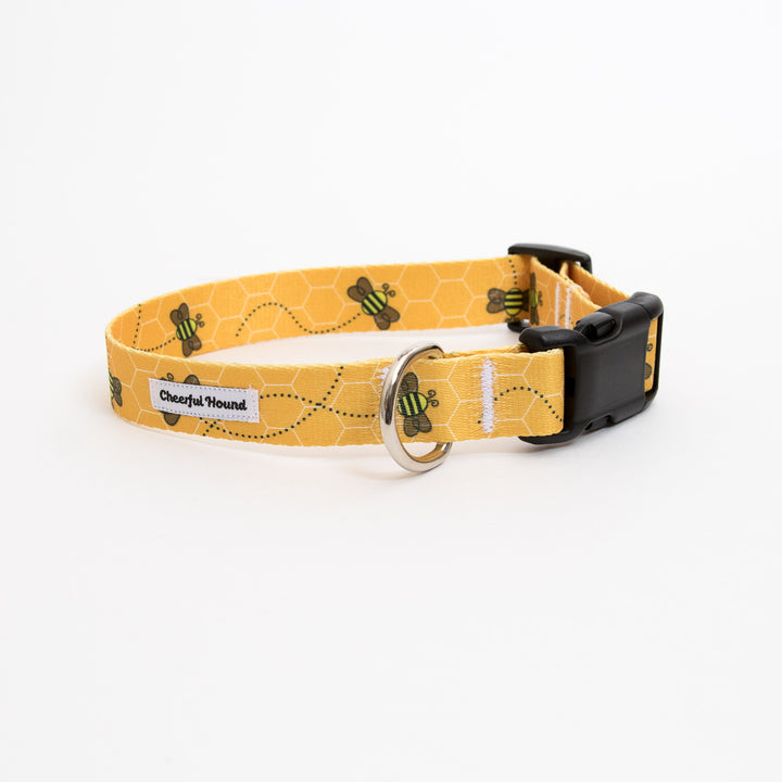Buzzin' Around Dog Collar