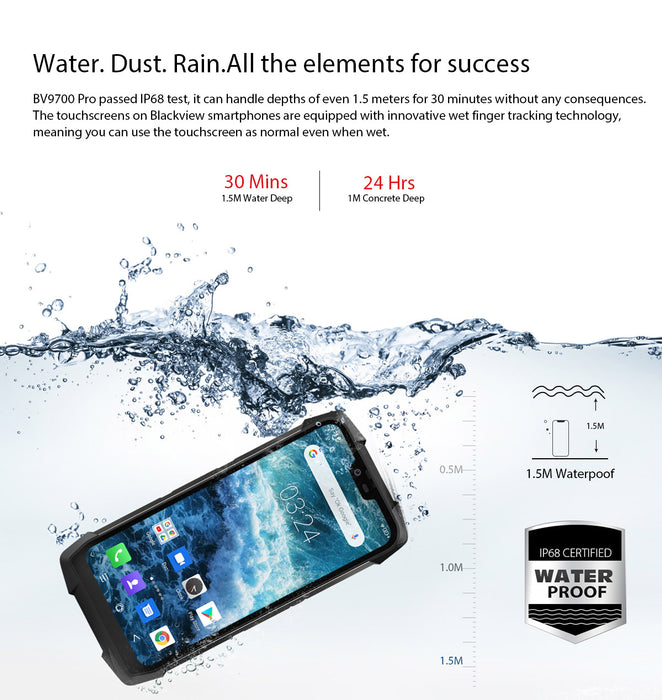 Blackview BV9700Pro Rugged Smartphone