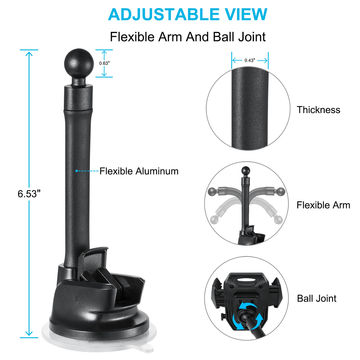 Magnetic Suction Cup Mount Holder