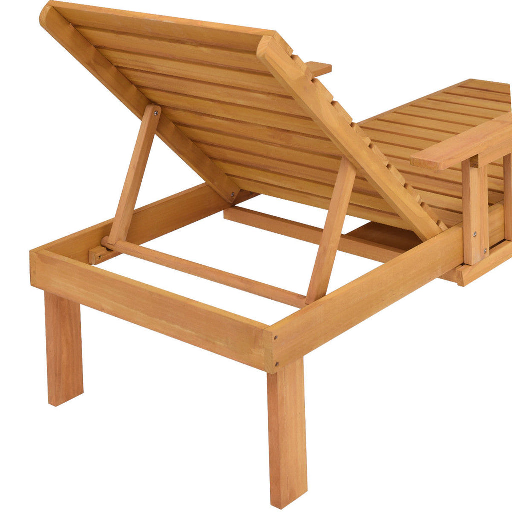 Patio Chaise Sun Lounger Outdoor Deck Lounge Chair