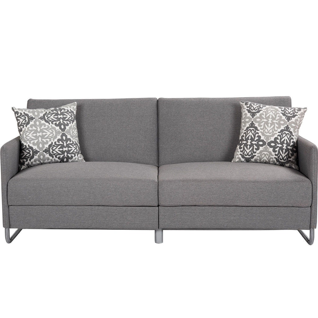 modern gray convertible sofa bed carol dawne rh caroldawne com modern gray sofa table modern gray sofa set