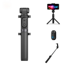 Load image into Gallery viewer, 3-in-1 Selfie Stick & Tripod with Bluetooth Remote