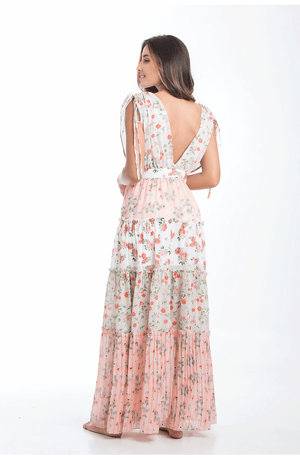 Garden of the Villa Long Dress - Smeralda_swimwear_2019