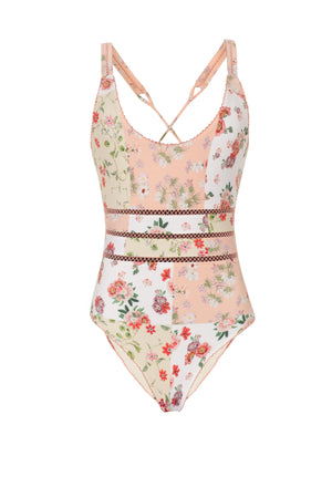 GARDEN OF THE VILLA SPORTY ONE-PIECE - Smeralda_swimwear_2019