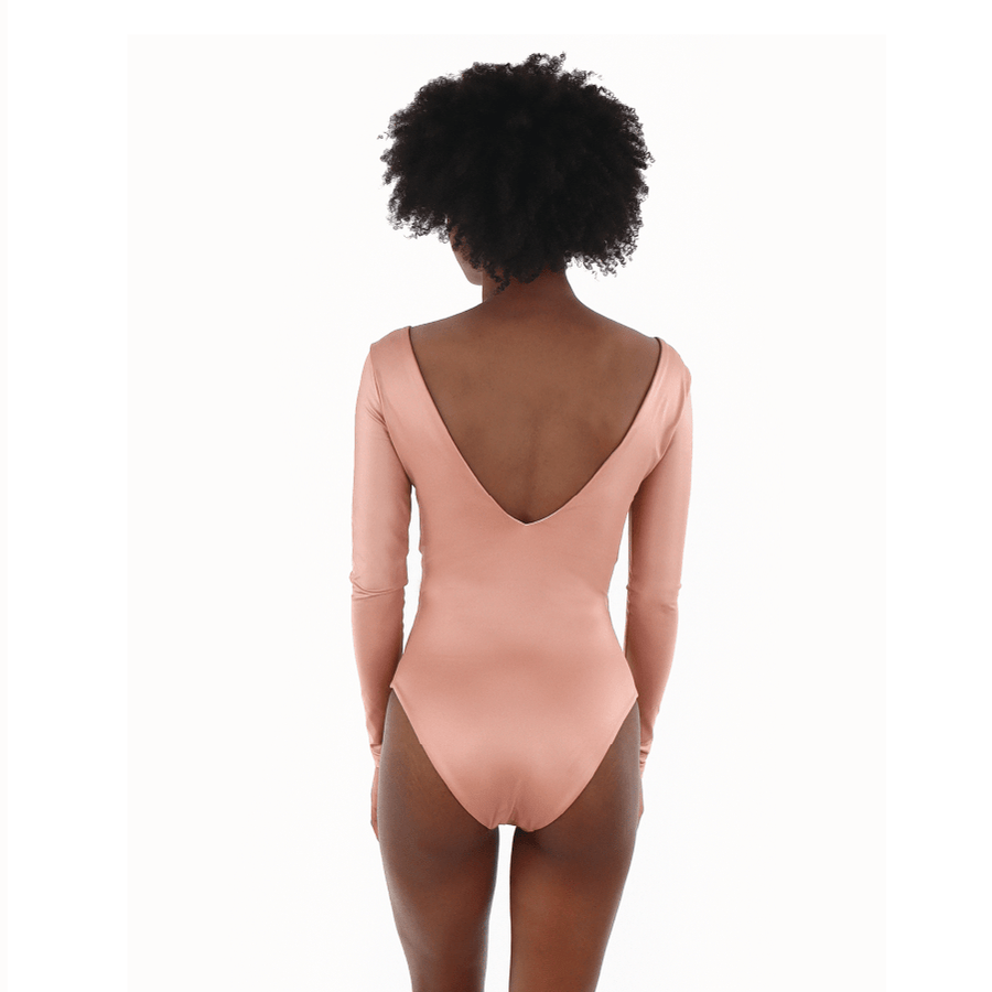 ROSEA LUCCA LONG SLEEVED ONE-PIECE - Smeralda_swimwear_2019