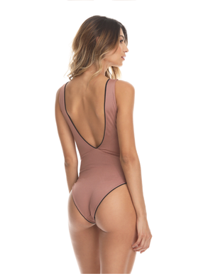 BLACK SOLID ONE-PIECE - Smeralda_swimwear_2019