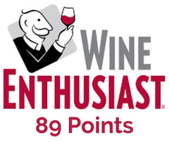 89 Score from Wine Enthusiast